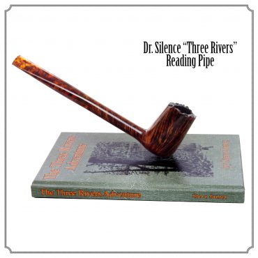 "Rogues Gallery : 'Dr Silence ""Three Rivers"" Reading pipe'"